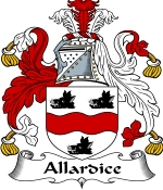 Allardice Family Crest / Allardice Coat of Arms JPG Download