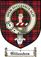 Gillanders Clan Badge / Tartan FREE preview