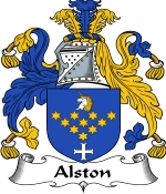Alston Family Crest / Alston Coat of Arms JPG Download