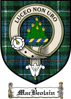 Macbeolain Clan Badge / Tartan FREE preview