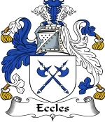 Eccles Family Crest / Eccles Coat of Arms JPG Download