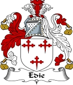 Edie Family Crest / Edie Coat of Arms JPG Download