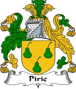Pirie Family Crest / Pirie Coat of Arms JPG Download