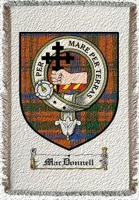 Mackeand Clan Badge Throw Blanket