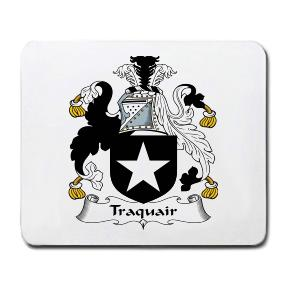 Traquair Coat of Arms Mouse Pad