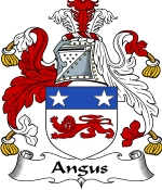 Angus Family Crest / Angus Coat of Arms JPG Download