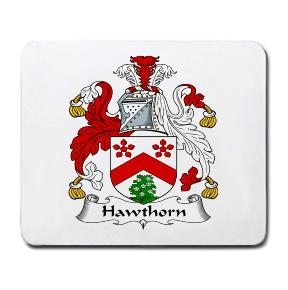 Hawthorn Coat of Arms Mouse Pad