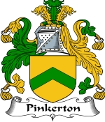 Pinkerton Family Crest / Pinkerton Coat of Arms JPG Download