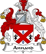 Annand Family Crest / Annand Coat of Arms JPG Download
