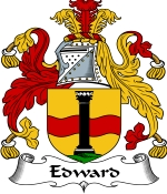 Edward Family Crest / Edward Coat of Arms JPG Download