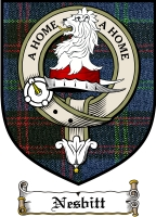 Nesbitt Clan Nesbitt Clan Badge / Tartan FREE preview