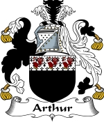 Arthur Family Crest / Arthur Coat of Arms JPG Download