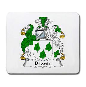 Branis Coat of Arms Mouse Pad