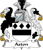 Aston Family Crest / Aston Coat of Arms JPG Download