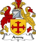 Anny Family Crest / Anny Coat of Arms JPG Download