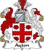 Aytoun Family Crest / Aytoun Coat of Arms JPG Download