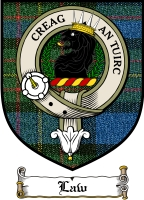 Law Clan Badge / Tartan FREE preview