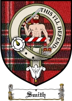 Smith Clan Mackintosh Clan Badge / Tartan FREE preview