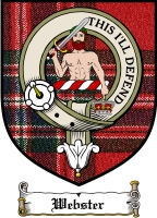 Webster Clan Badge / Tartan FREE preview