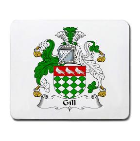 Gill Coat of Arms Mouse Pad
