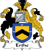 Erthe Family Crest / Erthe Coat of Arms JPG Download