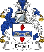 Ewart Family Crest / Ewart Coat of Arms JPG Download