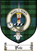 Pole Clan Badge / Tartan FREE preview
