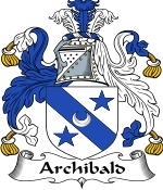 Archibald Family Crest / Archibald Coat of Arms JPG Download