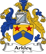 Arkley Family Crest / Arkley Coat of Arms JPG Download