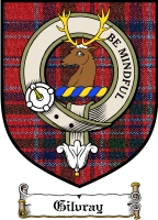 Gilvray Clan Badge / Tartan FREE preview