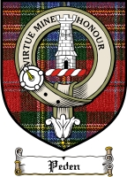 Peden Clan Badge / Tartan FREE preview