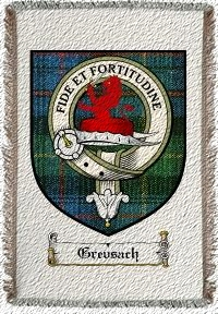 Grevsach Clan Badge Throw Blanket