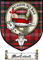 Maccowell Clan Badge / Tartan FREE preview
