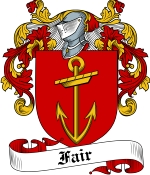 Fair Family Crest / Fair Coat of Arms JPG Download