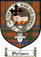 Philipson Clan Badge / Tartan FREE preview