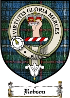 Robson Clan Badge / Tartan FREE preview