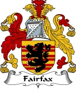 Fairfax Family Crest / Fairfax Coat of Arms JPG Download