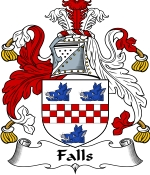 Falls Family Crest / Falls Coat of Arms JPG Download