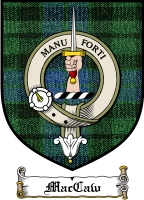 Maccaw Clan Stuart Clan Badge / Tartan FREE preview
