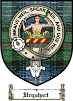 Urquhart Clan Badge / Tartan FREE preview