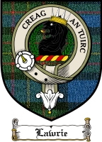Lawrie Clan Badge / Tartan FREE preview