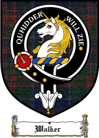 Walker Clan Badge / Tartan FREE preview