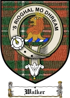 Walker Clan Stewart Appin Clan Badge / Tartan FREE preview