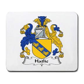 Hatlie Coat of Arms Mouse Pad