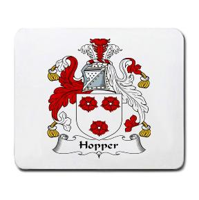 Hopper Coat of Arms Mouse Pad