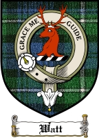 Watt Clan Badge / Tartan FREE preview