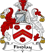 Findlay Family Crest / Findlay Coat of Arms JPG Download