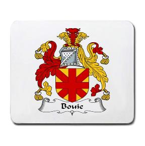 Bouie Coat of Arms Mouse Pad