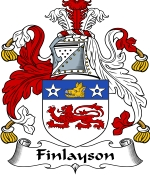 Finlayson Family Crest / Finlayson Coat of Arms JPG Download