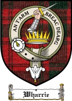 Wharrie Clan Badge / Tartan FREE preview
